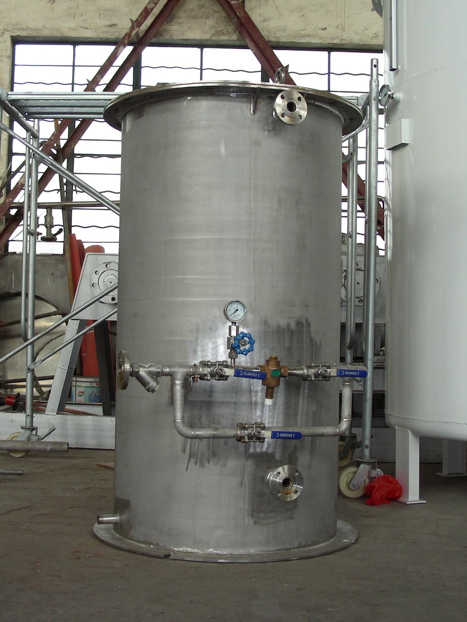 水浴式蒸汽化器