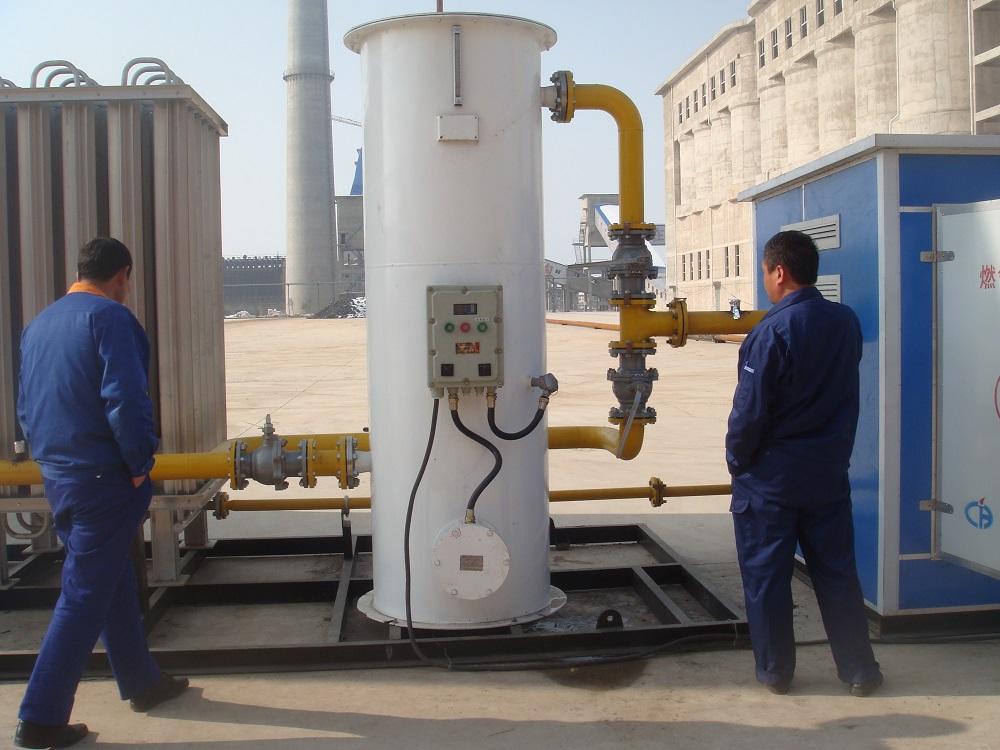BOG+水浴式气化器+燃气调压撬装式1