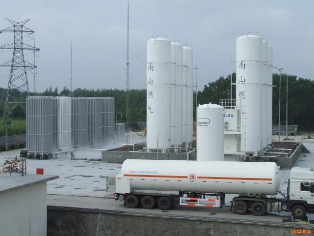 南山燃气气化站